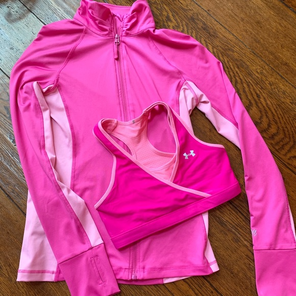 Under Armour Other - 💕Pink Workout Set💕